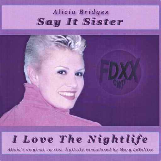 Art for I Love the Nightlife by Alicia Bridges