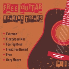Free Guitar Backing Tracks, Vol. 6