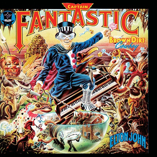 Art for Captain Fantastic And The Brown Dirt Cowboy by Elton John