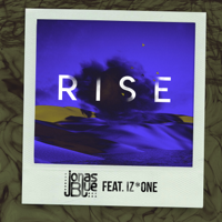 Jonas Blue - Rise (feat. IZ*ONE) artwork