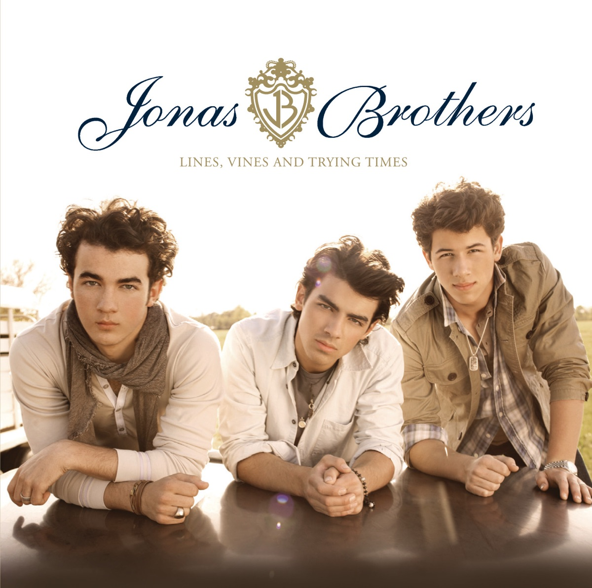 Lines Vines and Trying Times Jonas Brothers CD cover