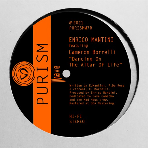 Dancing on the Altar of Life (feat. Cameron Borrelli) - EP by Enrico Mantini