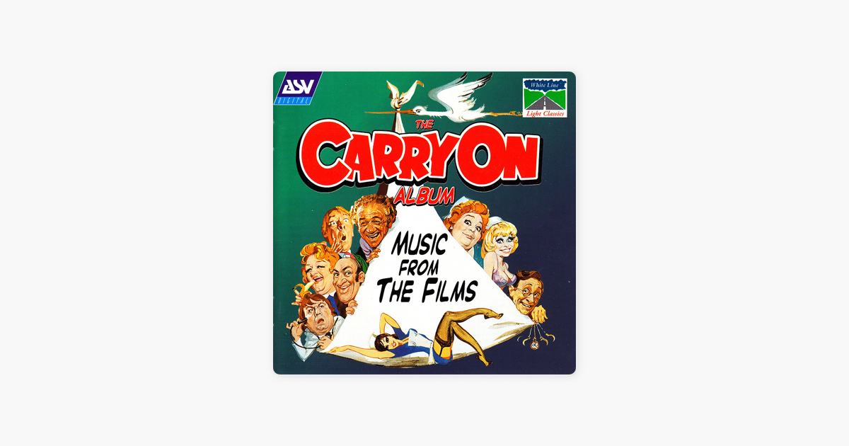 ‎Rogers: Carry on Camping Suite & Other Music from the Carry On Films by  The City of Prague Philharmonic Orchestra & Gavin Sutherland