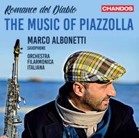 Marco Albonetti & Orchestra Filarmonica Italiana - Romance del Diablo: The Music of Piazzolla artwork