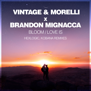 Vintage & Morelli, Hexlogic & Brandon Mignacca - Bloom / Love Is (Remixes) - EP