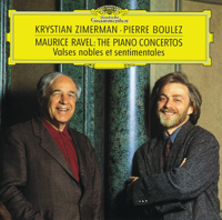 Cleveland Orchestra, Krystian Zimerman, London Symphony Orchestra & Pierre Boulez - Ravel: Piano Concertos - Valses nobles et sentimentales artwork