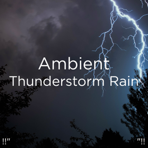"Sounds Of Nature : Thunderstorm, Rain & Thunder Storms & Rain Sounds - !!"" Ambient Thunderstorm Rain ""!!"