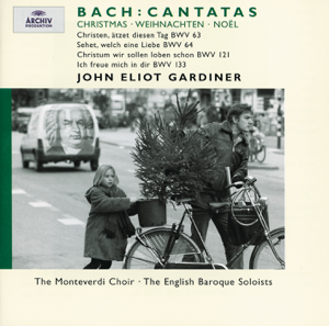 English Baroque Soloists, John Eliot Gardiner & Monteverdi Choir - J.S. Bach: Christmas Cantatas BWV 63, 64, 121 & 133