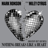 Mark Ronson - Nothing Breaks Like a Heart (feat. Miley Cyrus) [Boston Bun Remix] artwork