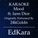 Mood (Originally Performed by 24kGoldn feat. Iann Dior) [Karaoke No Guide Melody Version] - EdKara