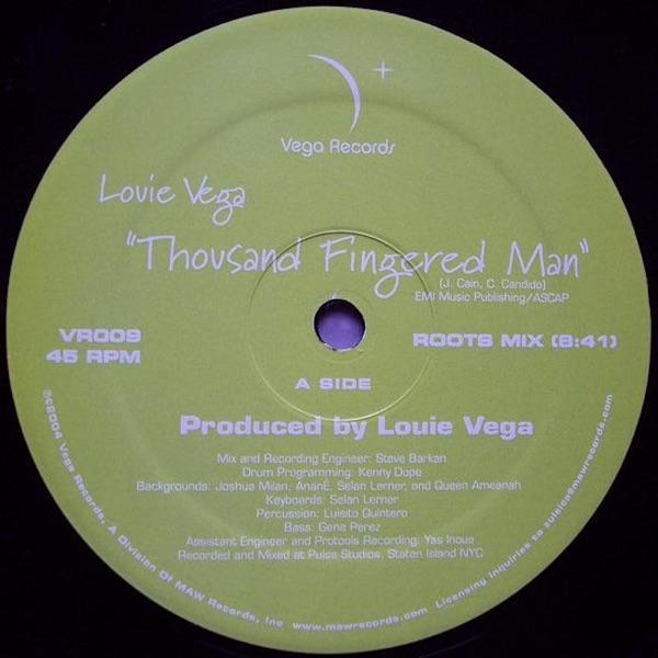 Thousand Fingered Man - Single