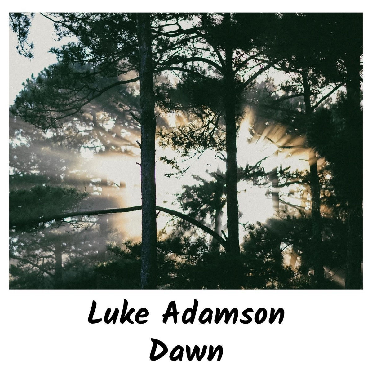 Dawn - Single Luke Adamson CD cover