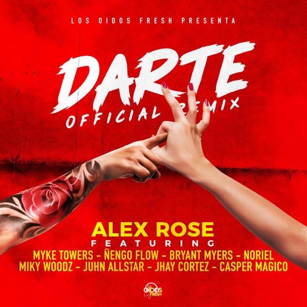 Darte Remix (feat. Ñengo Flow, Bryant Myers, Noriel, Juhn, Miky Woodz, Jhay Cortez & Myke Towers) - Single