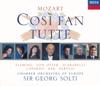 Adelina Scarabelli, Anne Sofie von Otter, Chamber Orchestra of Europe, Frank Lopardo, Michele Pertusi, Olaf Bär, Renée Fleming & Sir Georg Solti - Mozart: Così Fan Tutte обложка