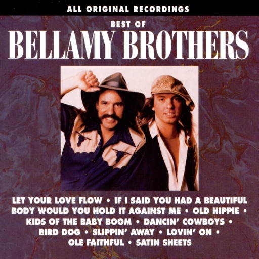 Art for Let Your Love Flow by Bellamy Brothers