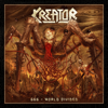 Kreator - 666 - World Divided artwork