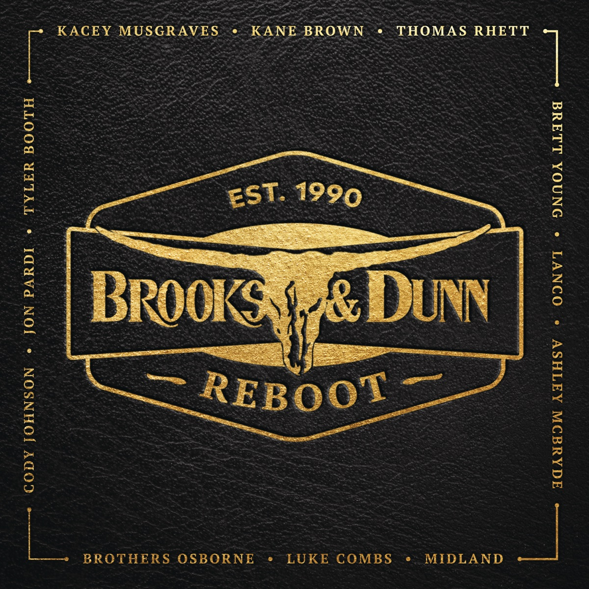 Reboot Brooks  Dunn CD cover