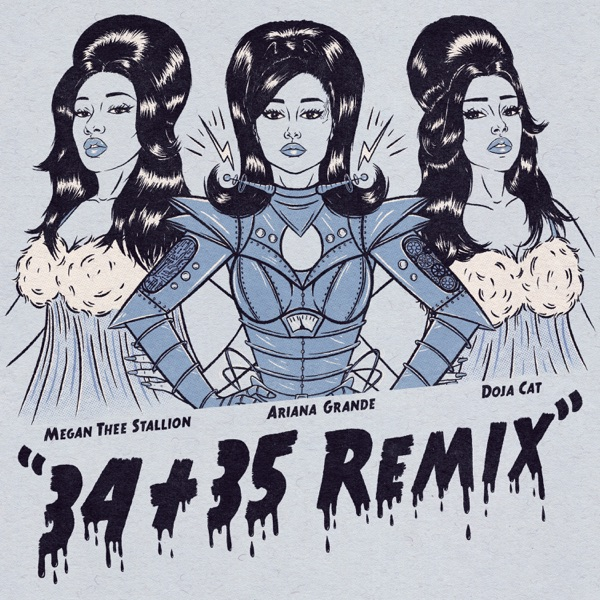 34+35 (Remix) [feat. Doja Cat & Megan Thee Stallion] - Single