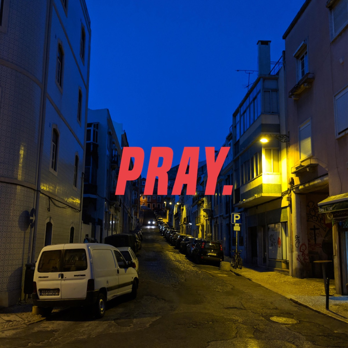 Pray feat Noble - Single Sainttt CD cover