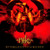 Nile - Annihilation of the Wicked artwork