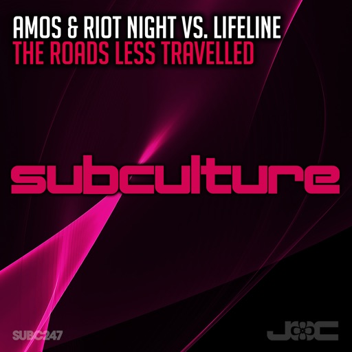 The Roads Less Travelled - Single by Lifeline & Amos & Riot Night