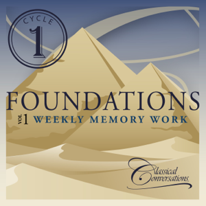 Classical Conversations - Foundations Cycle 1, Vol. 1 - Weekly Memory Work