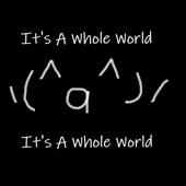 It's A Whole World (Ver.2) artwork