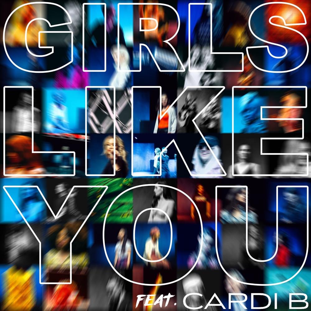Maroon 5 Girls Like You (feat. Cardi B)