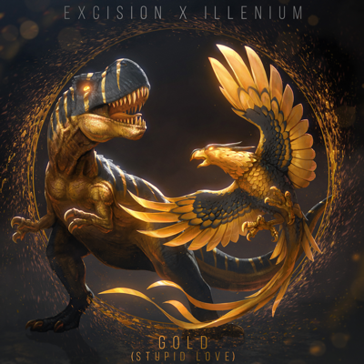 Gold (Stupid Love) [feat. Shallows] - Excision & Illenium song