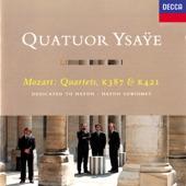 Quatuor Ysaÿe - String Quartet No. 15 in D Minor, K. 421: 2. Andante