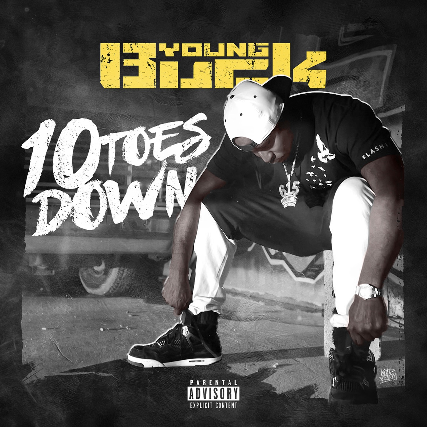 Young Buck - 10 Toes Down Cover