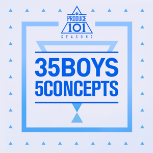 Various Artists - Produce 101 - 35 Boys 5 Concepts - EP