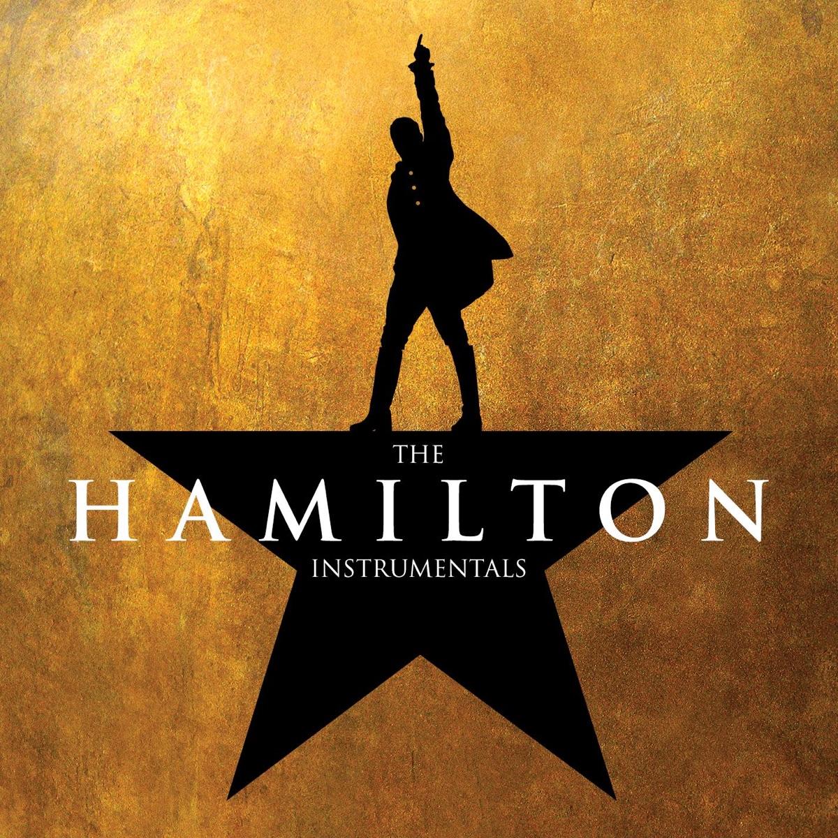 The Hamilton Instrumentals Original Broadway Cast of Hamilton CD cover