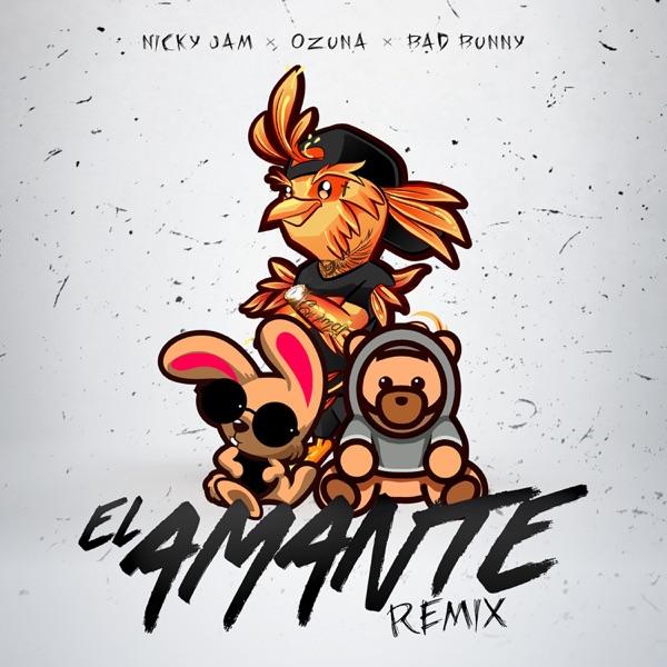 Nicky Jam - El Amante (Remix)