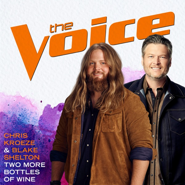 Chris Kroeze & Blake Shelton - Two More Bottles of Wine (The Voice Performance)