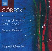Tippett Quartet - Górecki: Complete String Quartets, Vol. 1 artwork