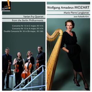 Marie-Pierre Langlamet, Varian Fry Quartet & Joan Rafaelle Kim - Mozart: Piano Concertos (Arr. for String Quartet and Harp)