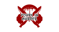 Podcast cover art for Yours in Murder