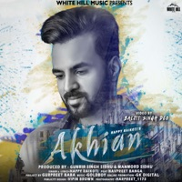 HAPPY RAIKOTI feat NAVPREET BANGA - Akhian Chords and Lyrics