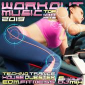 Workout Music 2019 Top 100 Hits Techno Trance House Dubstep EDM Fitness 6 Hr DJ Mix