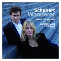 François Salque & Claire-Marie Le Guay - Schubert: Wanderer artwork
