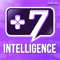 Podcast cover art for Plus 7 Intelligence | How Games Impact People