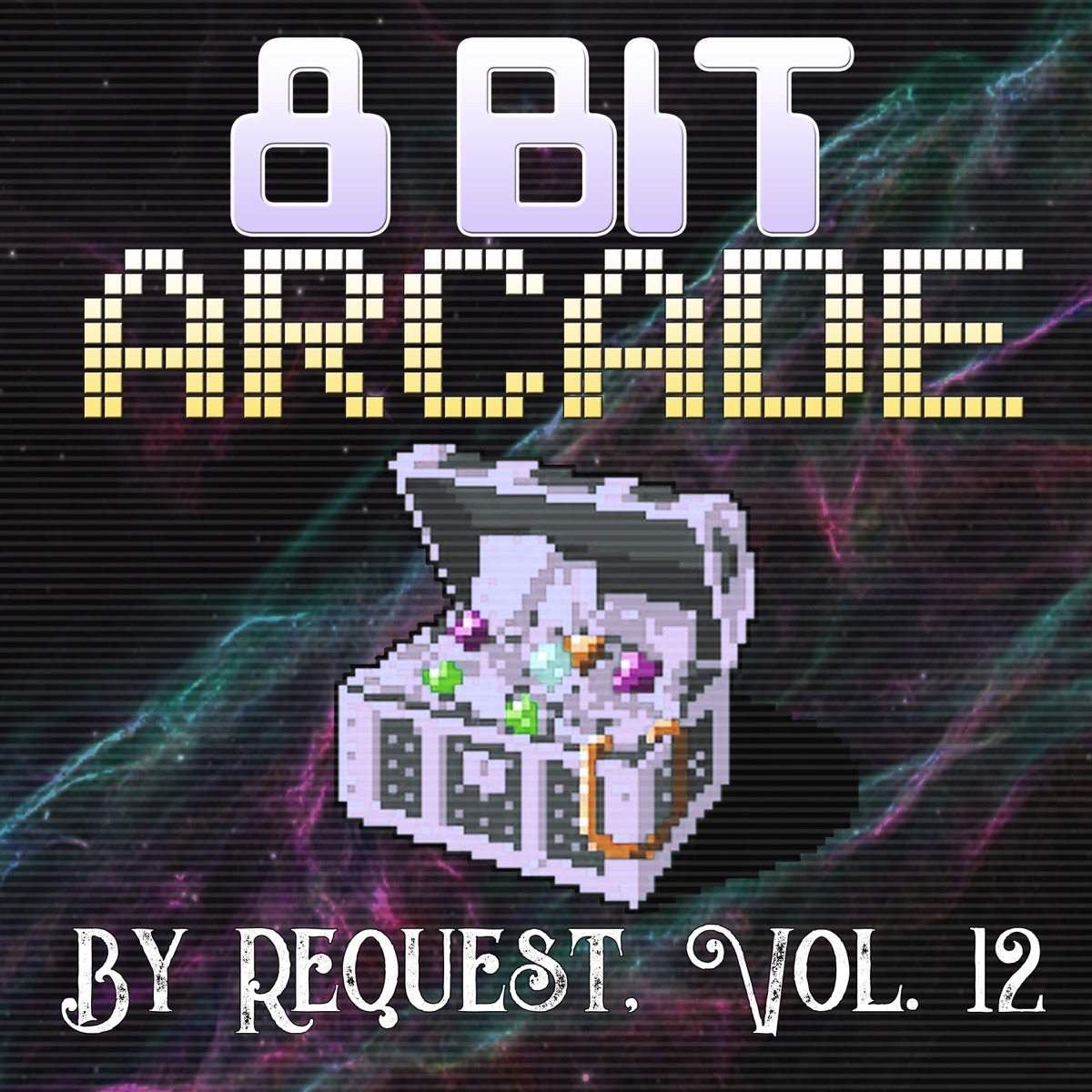 By Request Vol 12 8-Bit Arcade CD cover