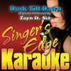Singer's Edge Karaoke - Dusk Till Dawn (Originally Performed By Zayn & Sia) [Instrumental] artwork