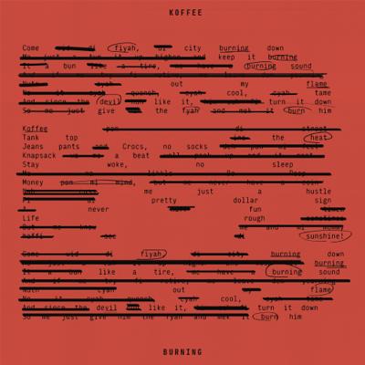 Burning - Koffee song