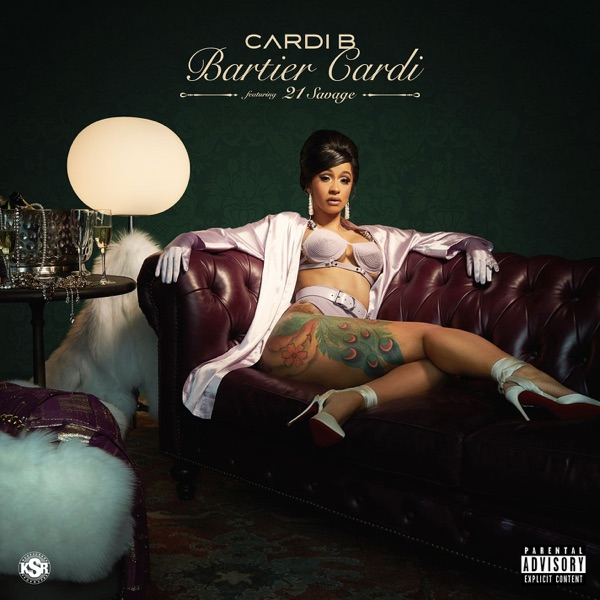Image result for bartier cardi single cover itunes