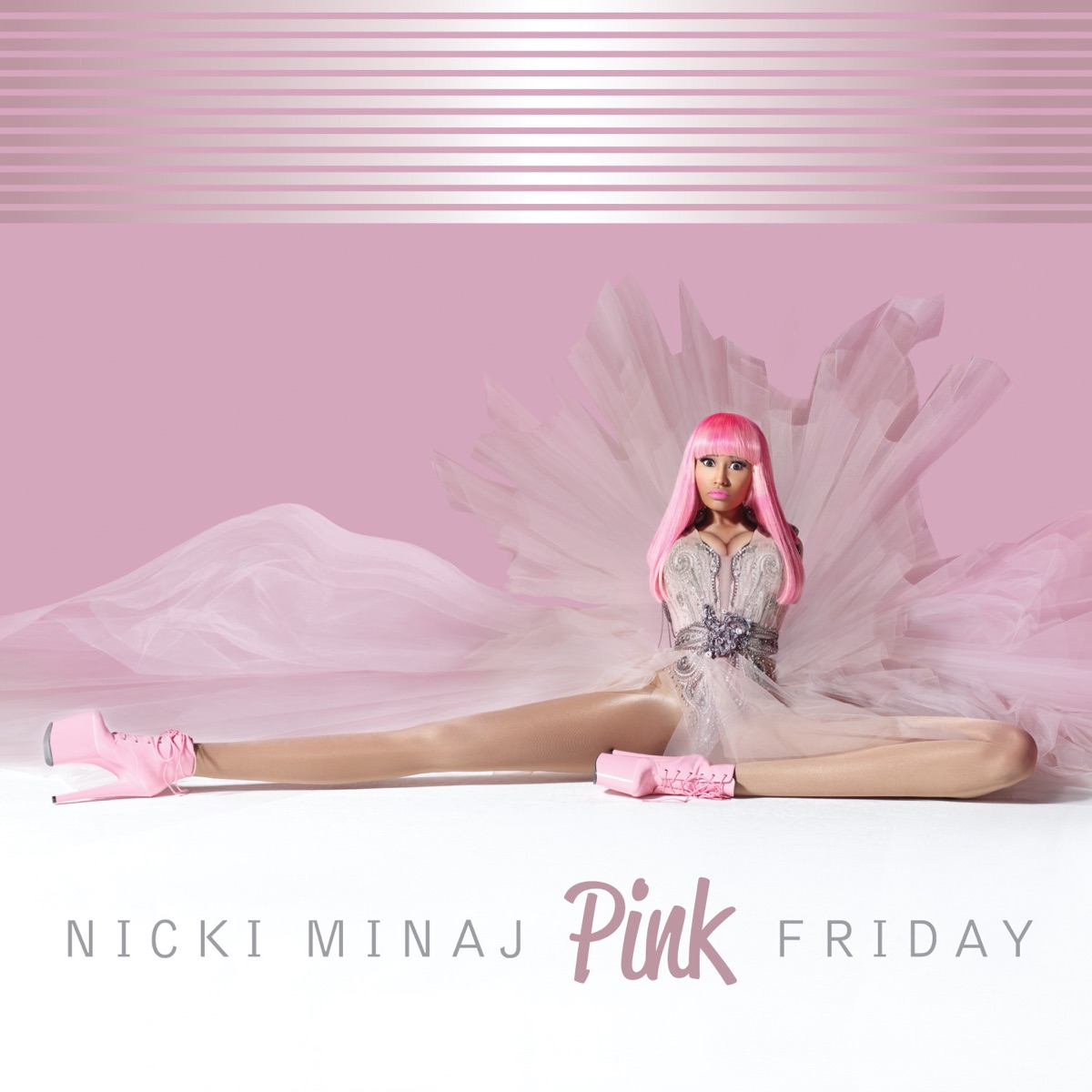 Pink Friday Nicki Minaj CD cover