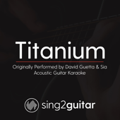Titanium (Originally Performed by David Guetta & Sia) [Acoustic Guitar Karaoke]