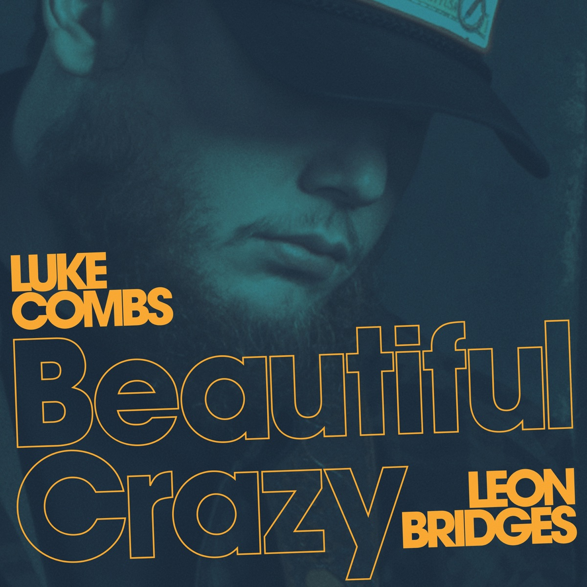 Beautiful Crazy Live feat Leon Bridges - Single Luke Combs CD cover
