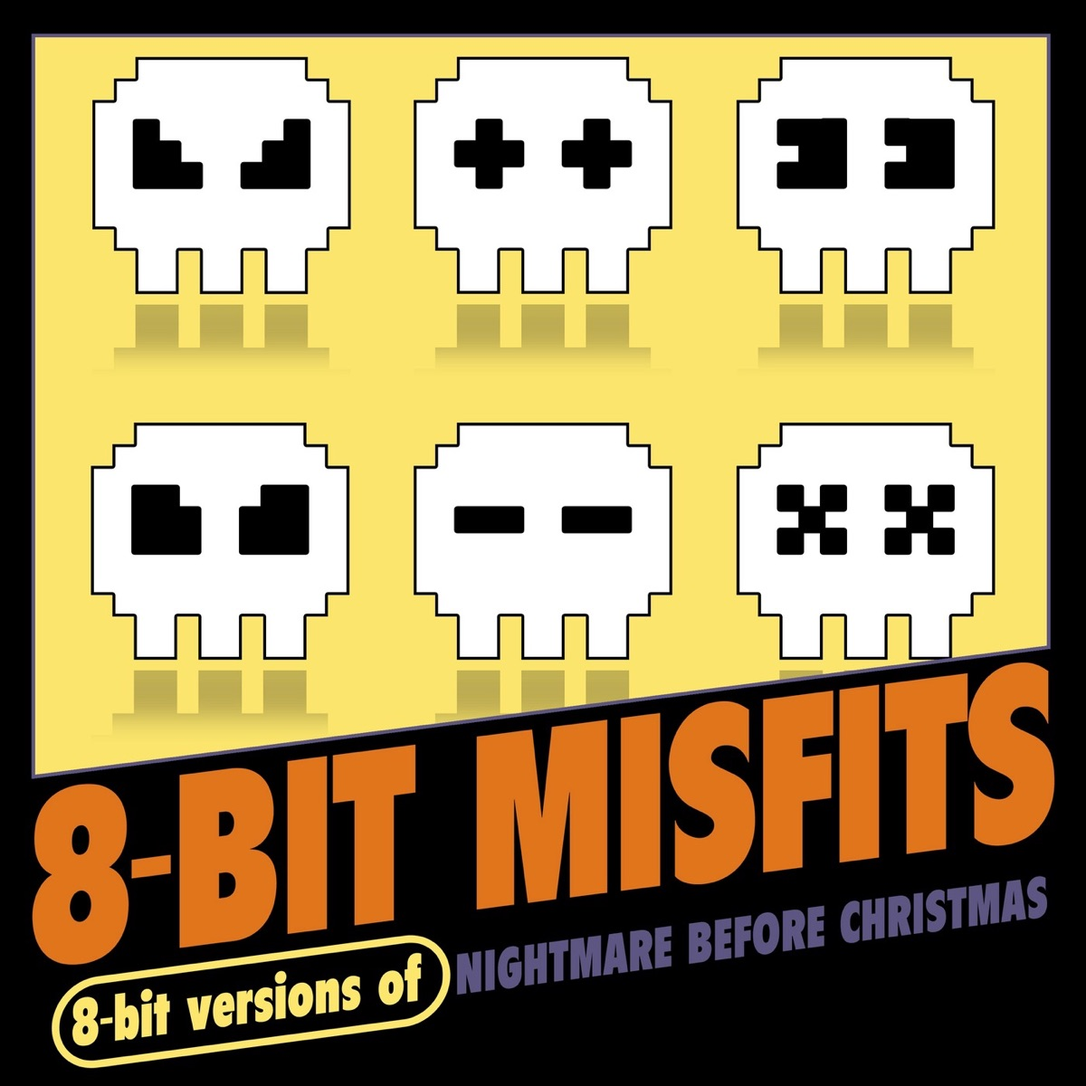 8-Bit Versions of Nightmare Before Christmas Album Cover by 8-Bit ...